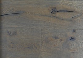 Eiken houten kasteelvloer grijs