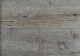 Eiken houten vloer gerookt geborsteld wit