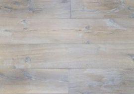 Gerookte eiken houten vloer wit