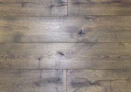 Eiken houten kasteelvloer