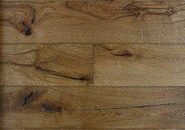 Eiken houten vloer rustiek naturel