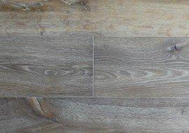 Eikenhouten gerookte vloer wit geolied
