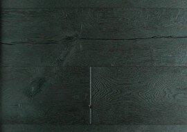 Eiken houten vloer geschaafd zwart