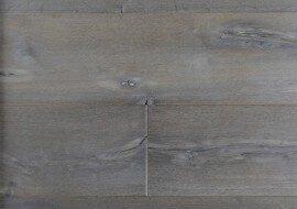 Eiken gerookte houten vloer grijs