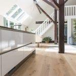 26cm brede rustieke eiken houten vloer