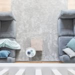 Maja's eiken houten vloer en karpet
