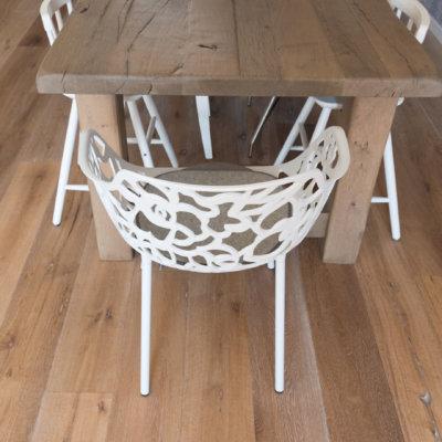 Maja's natural houtenvloer