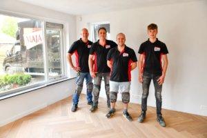 Donkere eiken vloer, Team Maja Drachten