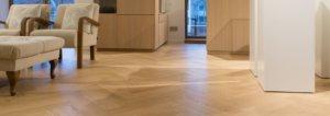 Visgraat houtenvloer Zwolle